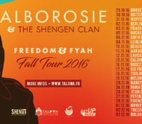 ALBOROSIE : FALL TOUR 2016